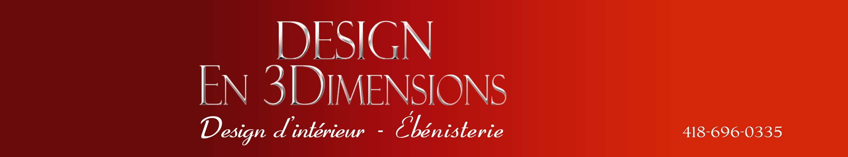 Design En 3 Dimensions Logo