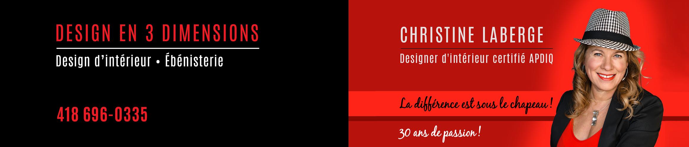 Design En 3 Dimensions Logo